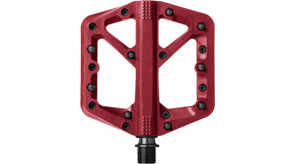 CrankBrothers Stamp 1 Plattform-Pedale Flatpedal Gr. Small red