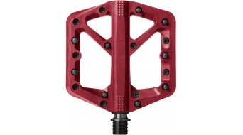 CrankBrothers Stamp 1 pedali flat Flatpedal mis. Small rosso