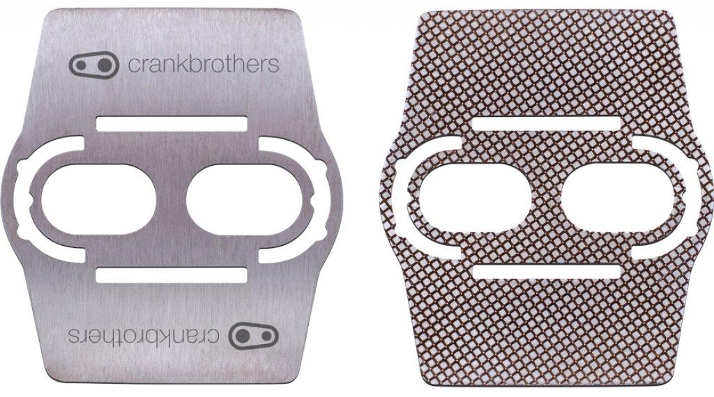 CrankBrothers Shoe Shield Sohlenschutz aus Edelstahl