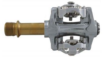 Exustar E-PM-215Ti MTB-pedales Titan-eje color plata