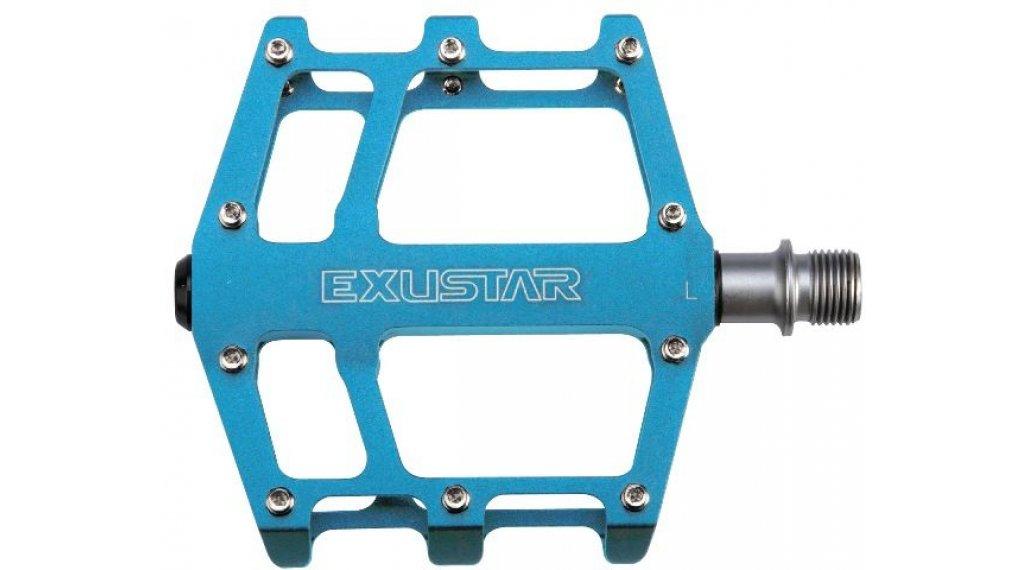 Exustar E-PB525 MTB/BMX-Pedale Cro-MO-Achse blau