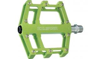 Exustar E-PB525 MTB/BMX-Pedale Cro-MO-Achse grün