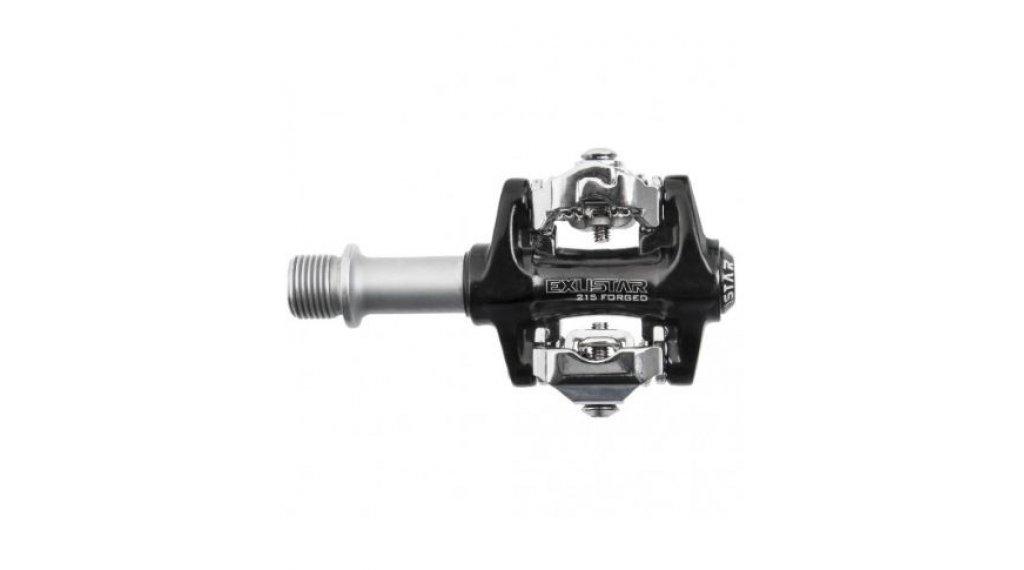Exustar E-PM215 MTB-Pedale Cro-MO-Achse schwarz