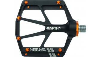 45NRTH Helva pedales negro(-a)/naranja
