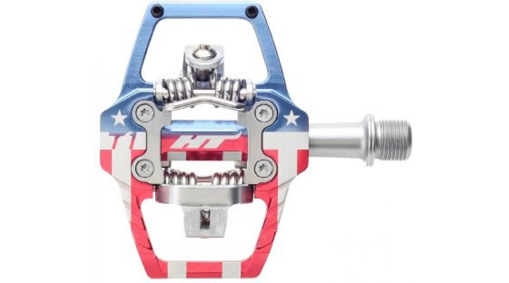 HT Components DH T1 Click-Pedale Stars &Stripes Limited Edition