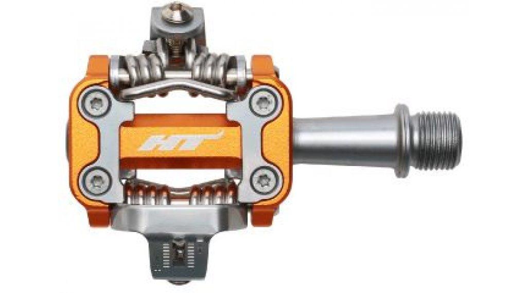 HT Components M1 XC Cromo Click-Pedale dark orange