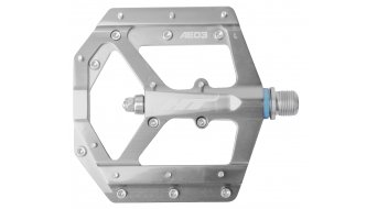 HT Components AE 03 Cromo Plattform-Pedale silver
