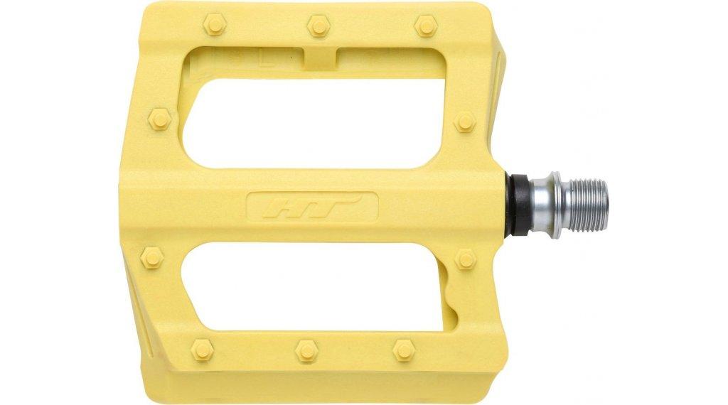 HT Components PA 12 Plattform-Pedale yellow
