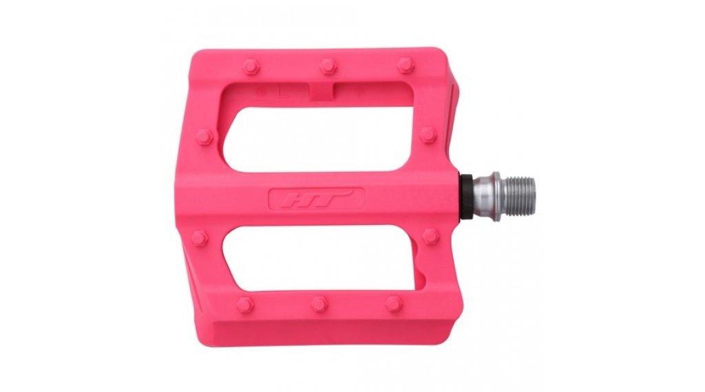 HT Components PA 12 Plattform-Pedale pink