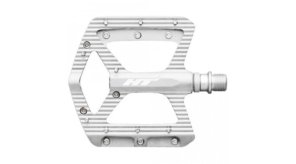 HT Components ANS 06 Cromo Plattform-Pedale silver