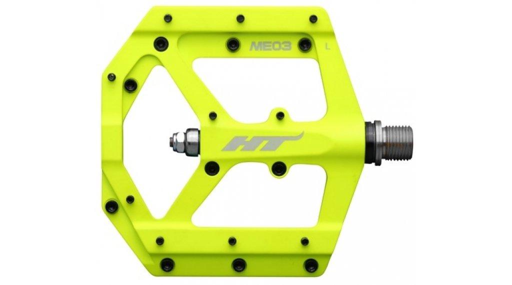 HT Components ME 03 Cromo Plattform-Pedale neon yellow