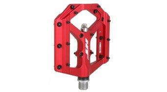 HT Components ME 03 Cromo Plattform-Pedale red