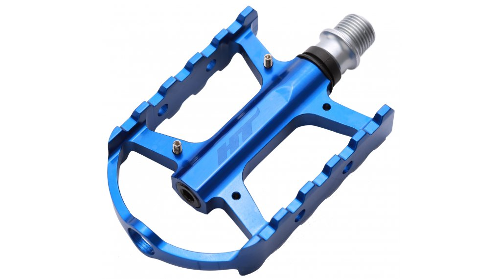 HT Components ARS 02 Plattform-Pedale marine blue polished