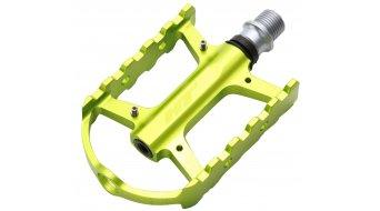 HT Components ARS 02 Plattform-Pedale green polished