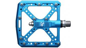 HT Components KA 01 Cromo Plattform-Pedale marine blue