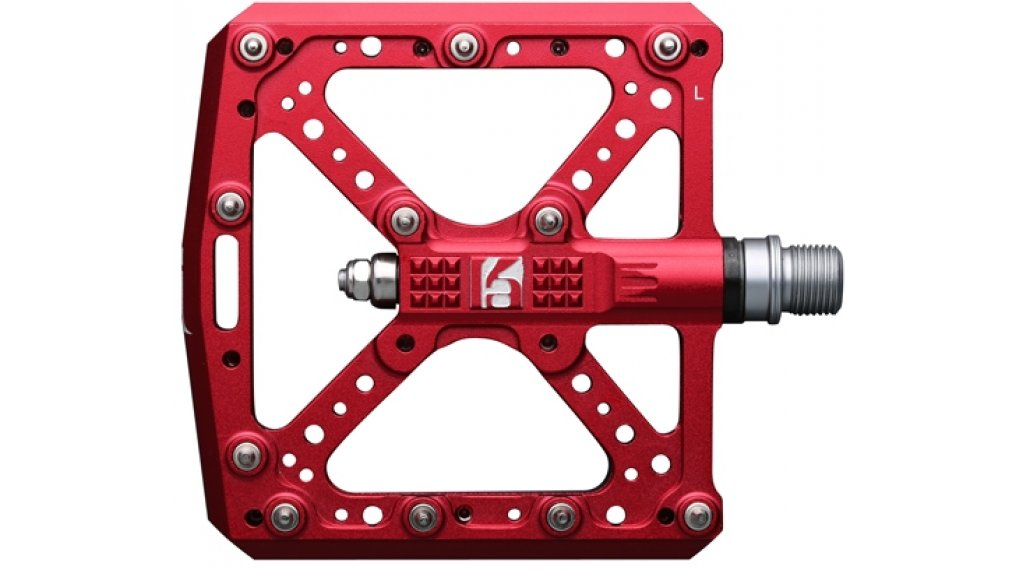 HT Components KA 01 Cromo Plattform-Pedale red