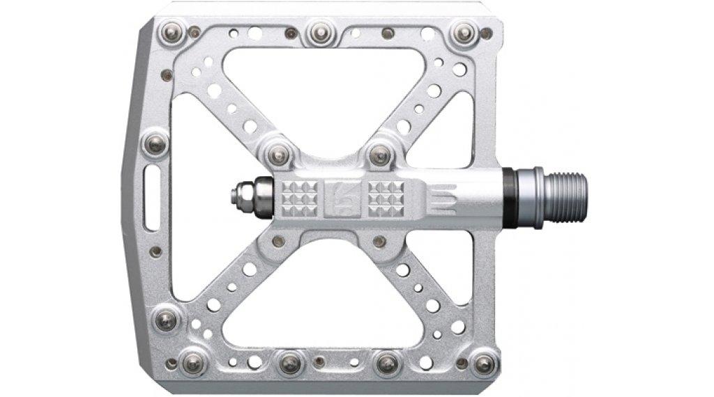 HT Components KA 01 Cromo Plattform-Pedale silver
