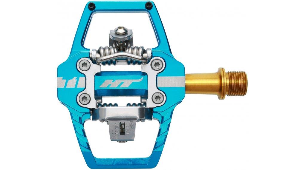 HT Components DH T1 Titan Click-Pedale sky blue