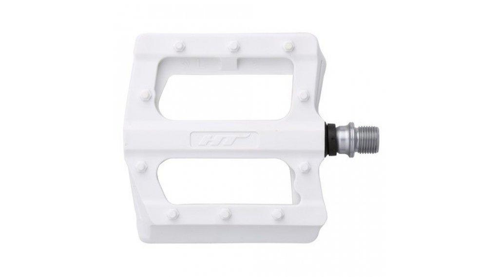 HT Components PA 12 Plattform-Pedale white