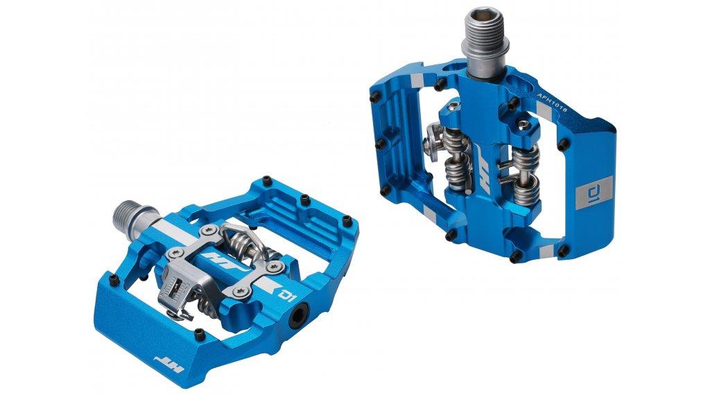 HT Components Dual Click-Pedale marine blue