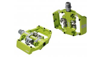 HT Components Dual Click-Pedale apple green