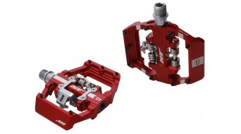 HT Components Dual Click-Pedale red
