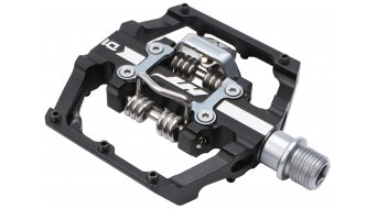 HT Components Dual Click-Pedale black