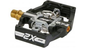 HT Components DH X2 Titan Spindle Click-Pedale black