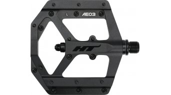HT Evo AE 03 Flat pedales stealth negro edition