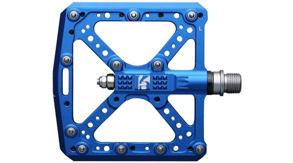 HT Components KA 01 Cromo Plattform-Pedale royal blue