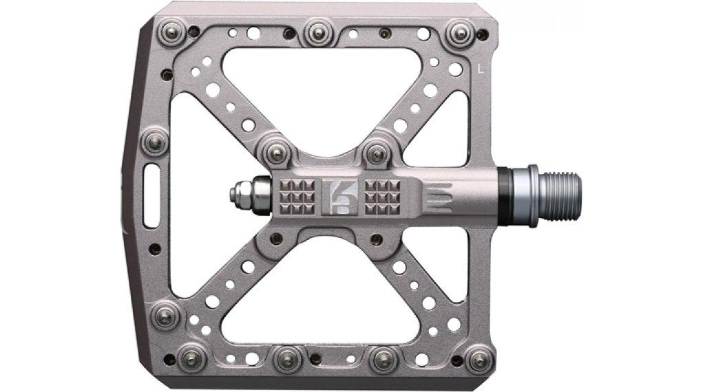 HT Components KA 01 Cromo Plattform-Pedale grey