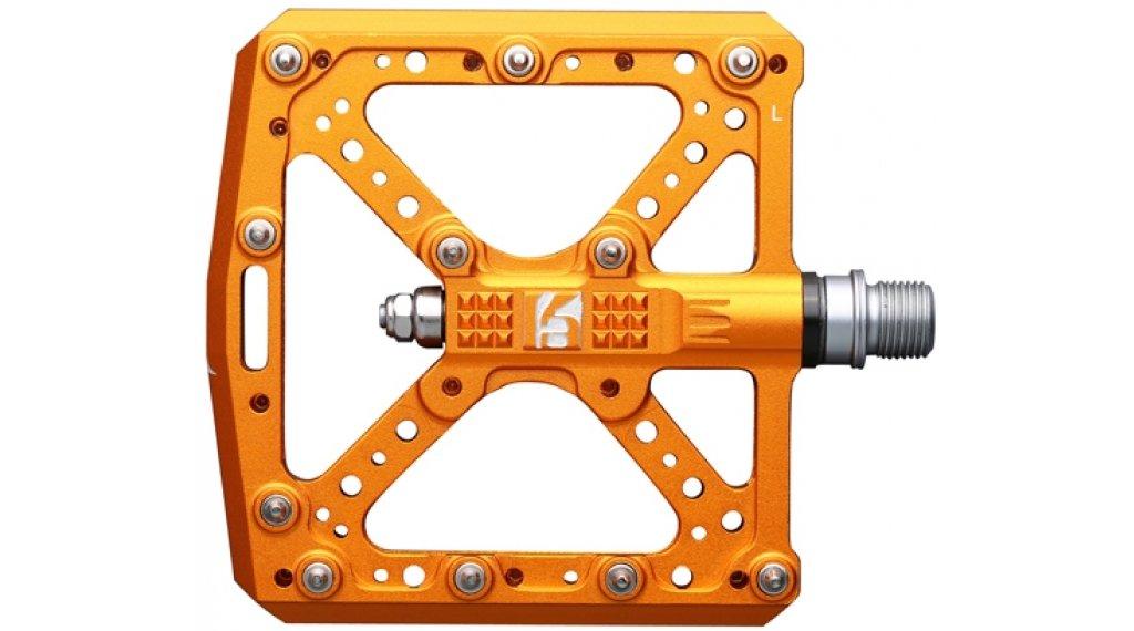HT Components KA 01 Cromo Plattform-Pedale dark orange