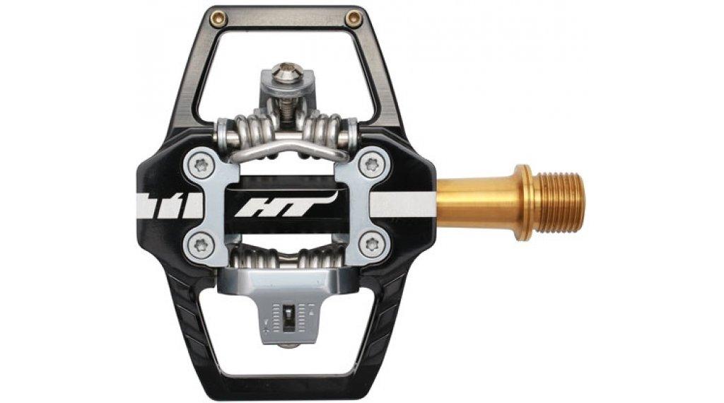 HT Components DH T1 Titan Click-Pedale black