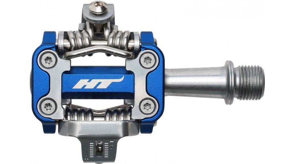HT Components M1 XC Cromo Click-Pedale marine blue