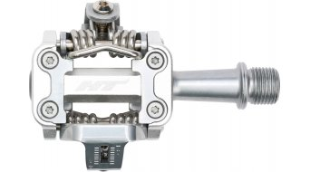 HT Components M1 XC Cromo Click-Pedale silver