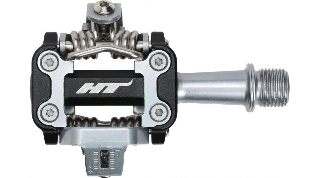 HT Components M1 XC Cromo Click-Pedale black