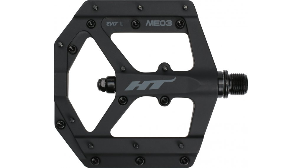 HT Components ME 03 Cromo Plattform-Pedale stealth black