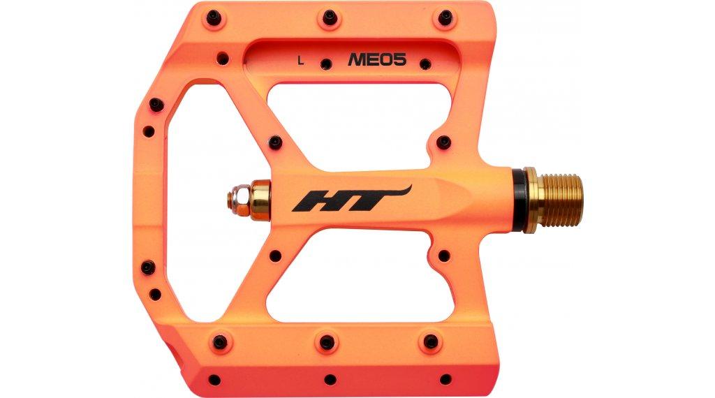 HT Components ME 05 Titan Plattform-Pedale neon orange