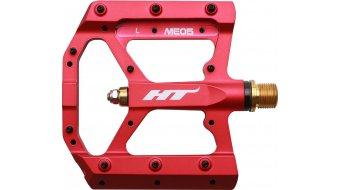 HT Components ME 05 Titan Plattform-Pedale matte red