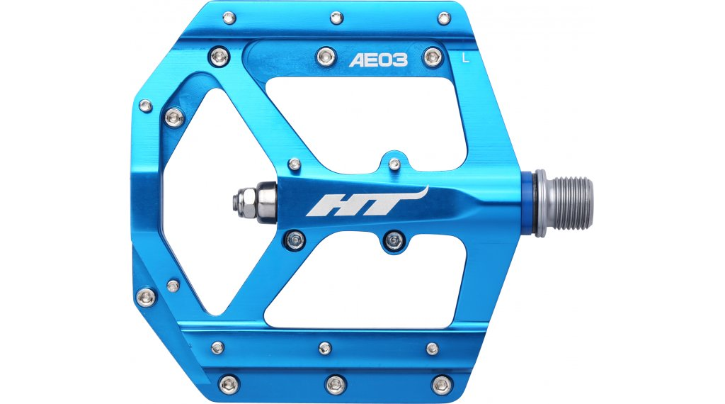 HT Components AE 03 Cromo Plattform-Pedale marine blue