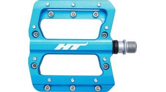 HT Components AN 14 A Crom Plattform-Pedale royal blue