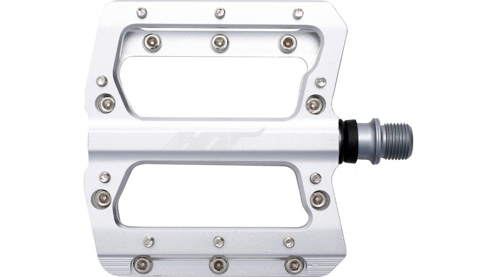 HT Components AN 14 A Crom Plattform-Pedale silver