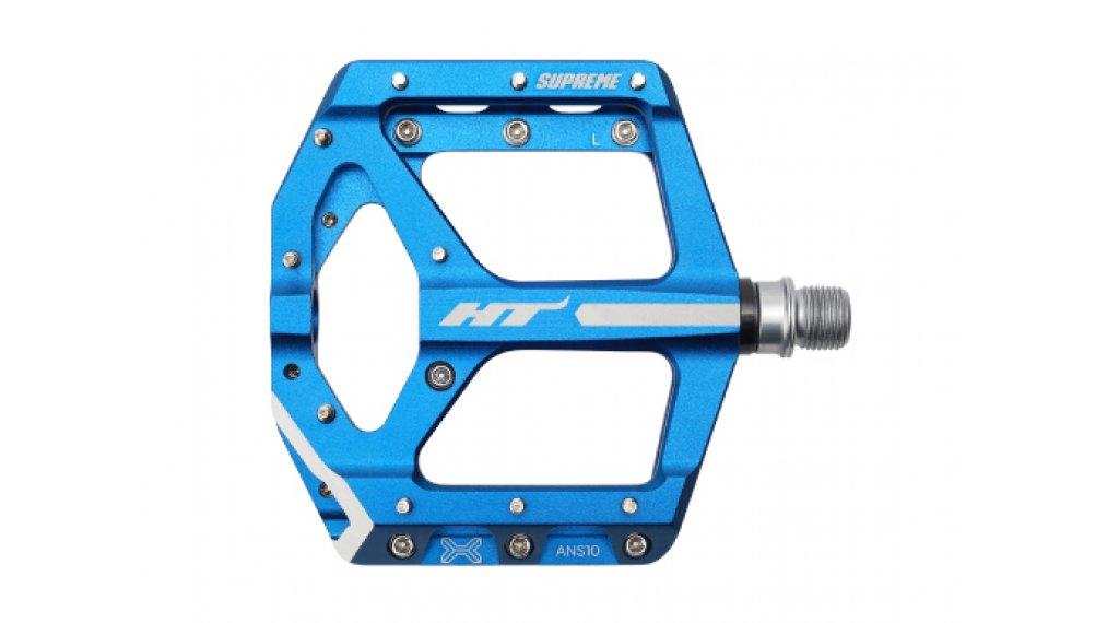 HT Components ANS 10 Cromo Plattform-Pedale marine blue