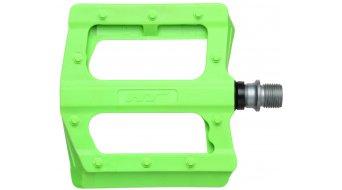 HT Components PA 12 Plattform-Pedale green