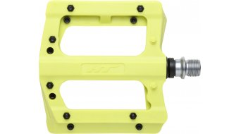 HT Components PA 12 Adjustable Plattform-Pedale yellow green