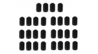 HT Components acero patillas de recambio M4x6mm (20 uds.) para HT DH-Race X1 pedales