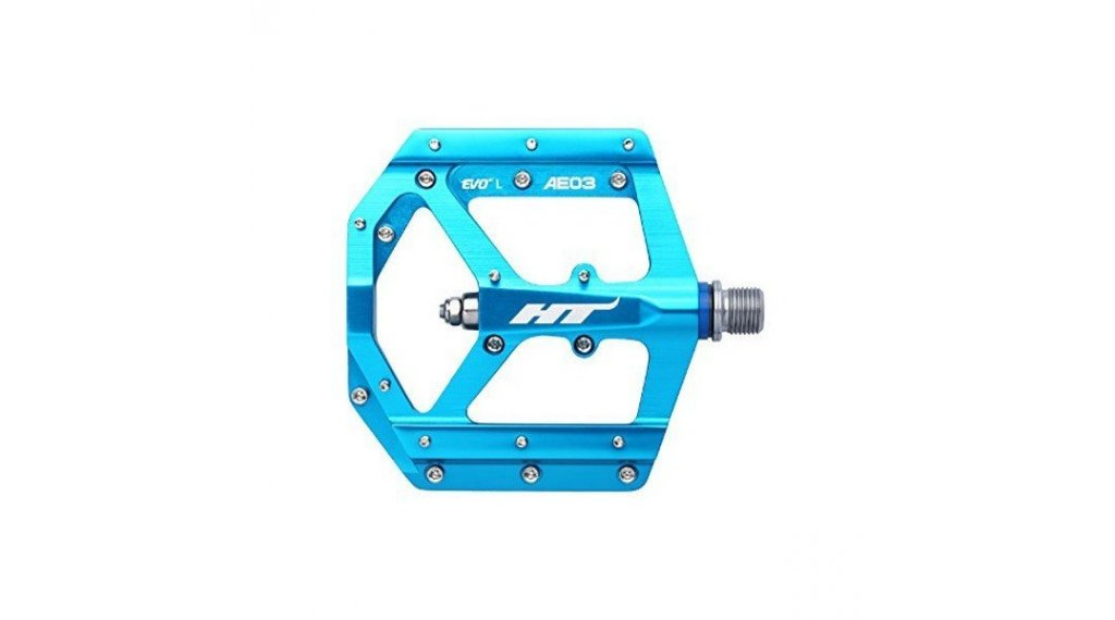 HT Components AE 03 Cromo Plattform-Pedale sky blue