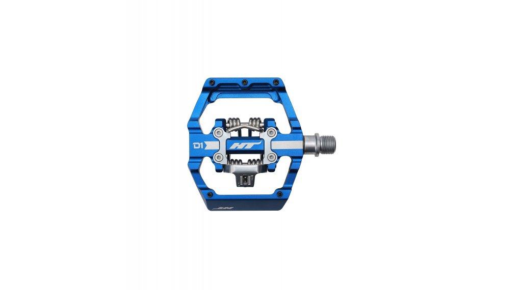 HT Components Dual Click-Pedale royal blue