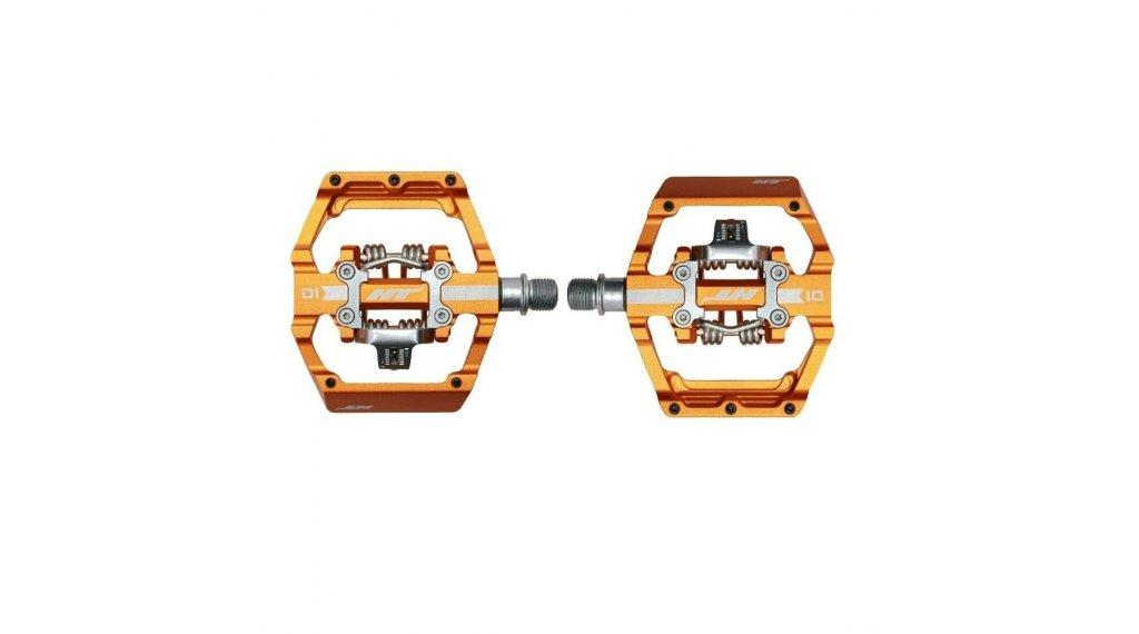 HT Components Dual Click-Pedale dark orange