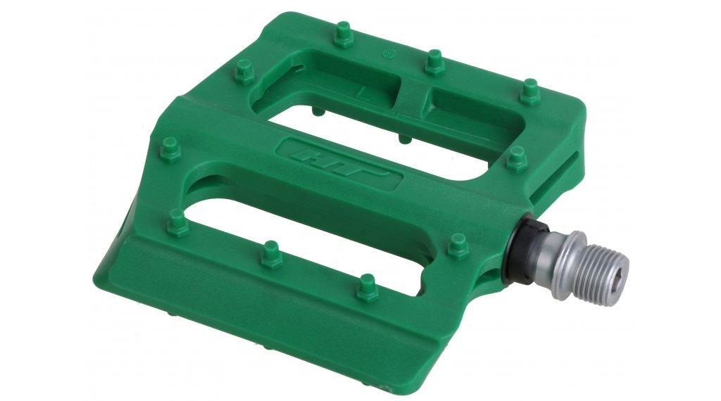 HT Components PA 12 Plattform-Pedale dark green